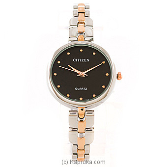 Citizen Silver And Gold Ladies Watch  Online at Kapruka | Product# jewelleryW00685