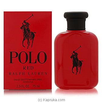 Polo Red By Ralph Lauren Eau De Toilette For Men75ml Online at Kapruka | Product# perfume00296