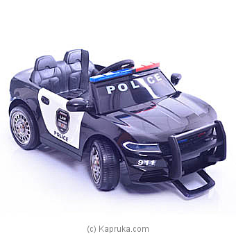 Kids Police Ride On Electric Car Online at Kapruka | Product# kidstoy0Z901