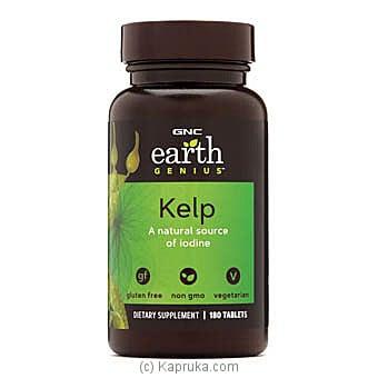 GNC Earth Genius Kelp Online at Kapruka | Product# grocery00832
