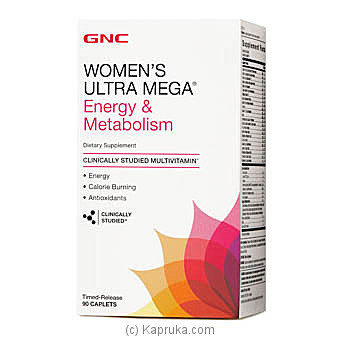 GNC Womens Ultra Mega Energy Metabolism Online at Kapruka | Product# grocery00834
