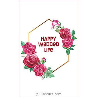 Wedding Greeting Card Online at Kapruka | Product# greeting00Z1807