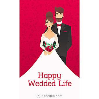 Wedding Greeting Card Online at Kapruka | Product# greeting00Z1805