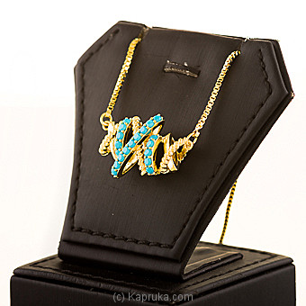 Color Stones Pendant With Chain Online at Kapruka | Product# jewllery00SK716
