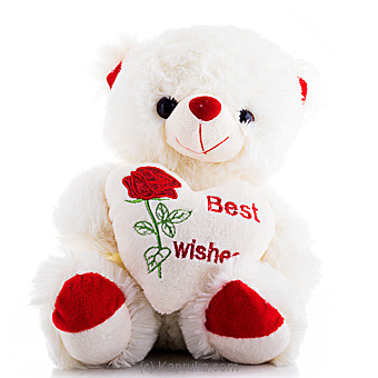 Best Wishes Teddy Online at Kapruka | Product# softtoy00578