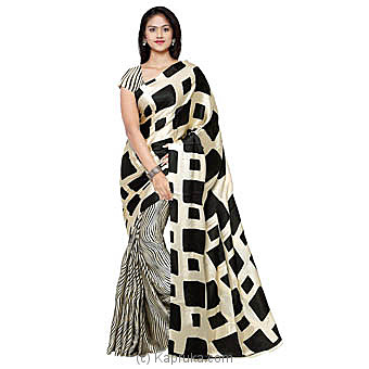 Designing Crepe Saree With Blouse Piece Online at Kapruka | Product# clothing0654