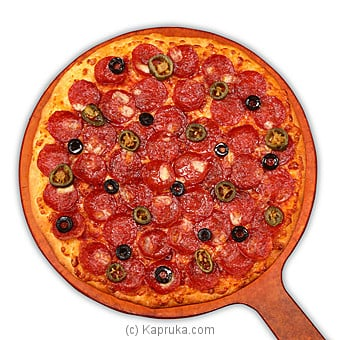 Pepperoni Paradiso Thin Crust Pizza - Large Online at Kapruka | Product# pizzahut00206