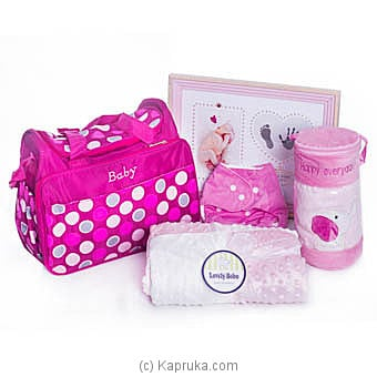 Little Pumpkin Baby Pack Pink Online at Kapruka | Product# babypack00335