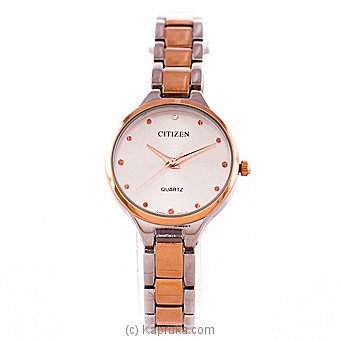 Citizen Gold And Silver Mixed Ladies Watch Online at Kapruka | Product# jewelleryW00716