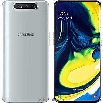 Samsung Galaxy A80 Ghost White (128GB) Online at Kapruka | Product# elec00A1630