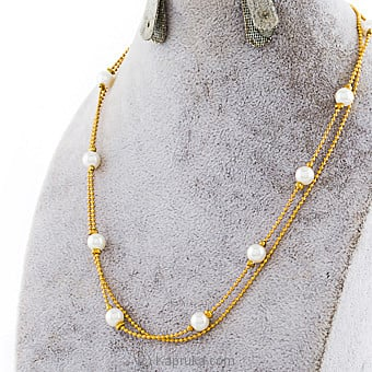 Pearls With Necklace Online at Kapruka | Product# jewllery00SK740