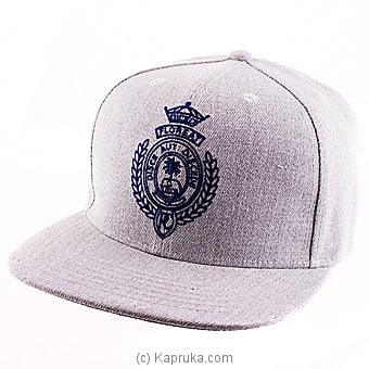 Royal College Grey Cap With Blue Logo Online at Kapruka | Product# schoolpride00153