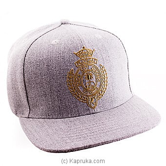 Royal College Grey Cap With Gold Logo Online at Kapruka | Product# schoolpride00154