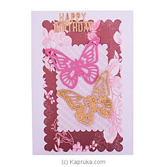 Handmade Happy Birthday Greeting Card Online at Kapruka | Product# greeting00Z1851