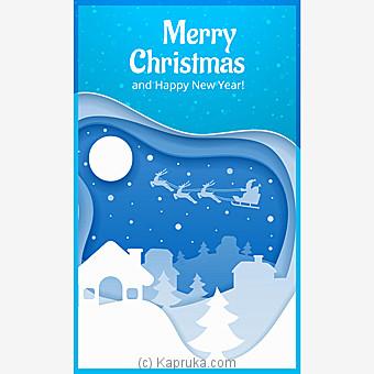 Christmas Greeting Card Online at Kapruka | Product# greeting00Z1830