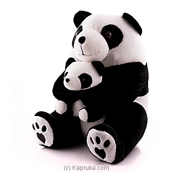 Mommy And Baby Panda Online at Kapruka | Product# softtoy00580