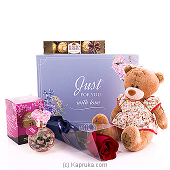 Just For You With Love Gift Pack Online at Kapruka | Product# giftset00179