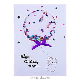 Handmade Happy Birthday Greeting Card Online at Kapruka | Product# greeting00Z1871