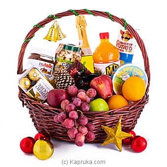 Fruit And Goodies For Christmas at Kapruka Online for specialGifts