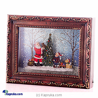 Gifts from Santa Christmas Snow Globe Picture Frame at Kapruka Online for specialGifts