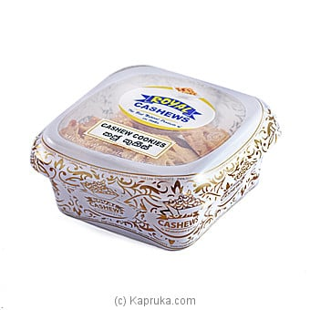 Royal Cashews Cashew Cookies - Rigid Container -100g Online at Kapruka | Product# grocery00855
