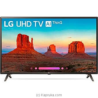 LG 55` Smart 4K UHD TV (55UK6400) Online at Kapruka | Product# elec00A1718
