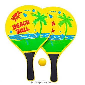 Yellow Beach Tennis Paddles Online at Kapruka | Product# sportsItem00149