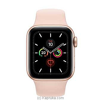 Apple Iwatch Series 5- 44mm Gold Aluminum GPS - Pink Sand Sport Band Online at Kapruka | Product# elec00A1724