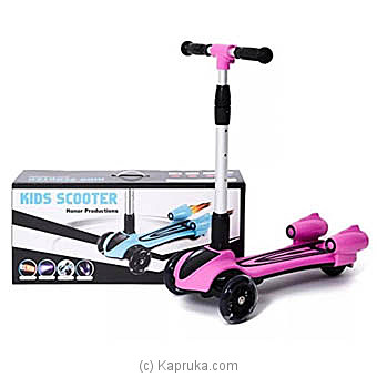 Pink Honor Kids Scooter Online at Kapruka | Product# kidstoy0Z963