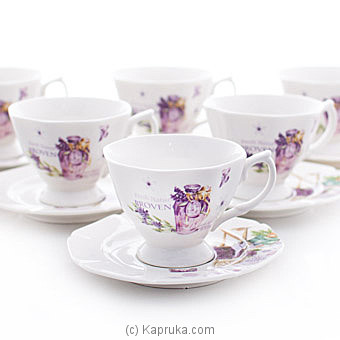 Luxuary Tea Saucer Gift Set Online at Kapruka | Product# household00377