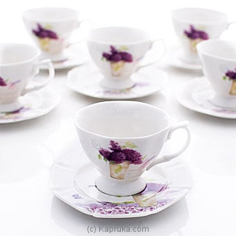 Classic Tea Cup And Saucer Set Online at Kapruka | Product# household00378