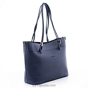 Calvin Klein Navy Blue Handbag Online at Kapruka | Product# fashion001098