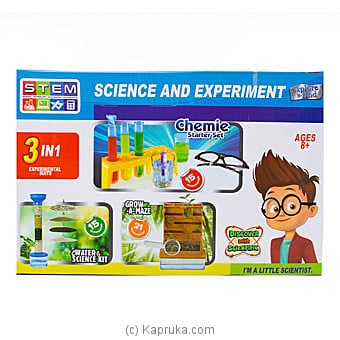Science And Experiment Starter Kit Online at Kapruka | Product# kidstoy0Z980