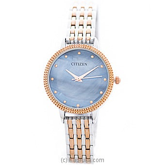 Citizen Gold And Silver Mixed Ladies Watch