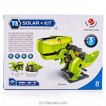 Solar Robot Kit Online at Kapruka | Product# kidstoy0Z979
