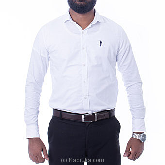 Golf Long Sleeve Corporate Shirt - White - By Urban Golf at Kapruka Online forspecialGifts