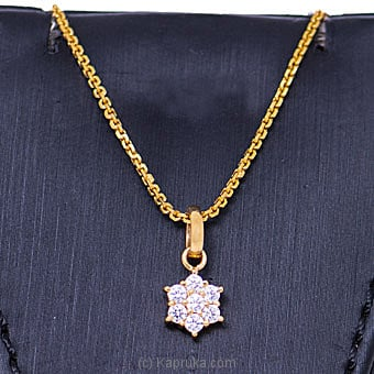 Vogue 22K Gold Pendant With 7 (c/z) Rounds By Vogue at Kapruka Online forspecialGifts