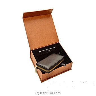 P G Martin Gift Box (C.K Ladies Wallet +Pen) By P G MARTIN at Kapruka Online forspecialGifts