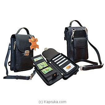 P.G Martin Travel Pouch( 128 ) Black Online at Kapruka | Product# fashion001129_TC1