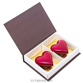 Java Double Heart Chocolate Online at Kapruka | Product# chocolates00841