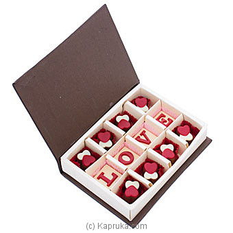 Java Love You  12 Piece Chocolate Box By Java at Kapruka Online forspecialGifts