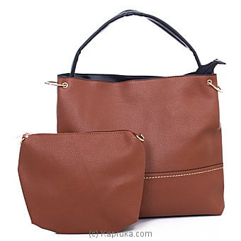 Chic Brown Shoulder Bag Online at Kapruka | Product# fashion001226