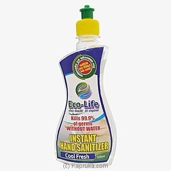 Eco Life Hand 500ml Sanitizer (large Size) - Limit 3 Per Order Online at Kapruka | Product# grocery00870