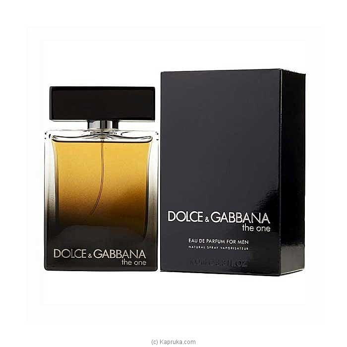 Dolce And Gabbana The One For Men Eau De Parfum 100ml Online at Kapruka | Product# perfume00318
