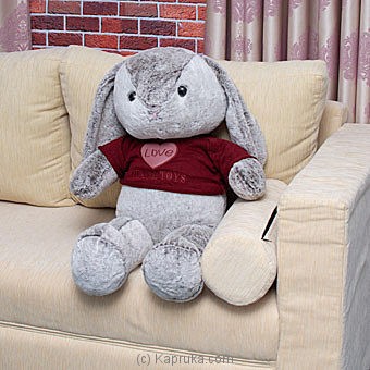 Giant Love Bunny - 2.5ft Tall Online at Kapruka | Product# softtoy00626
