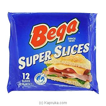 Bega Super Slices Processed Cheese 250g Online at Kapruka | Product# grocery00903
