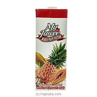 My Juicee Mixed Fruit Nectar 1L Online at Kapruka | Product# grocery00936