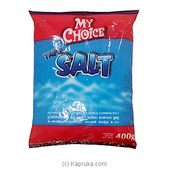 My Choice Salt 400g Online at Kapruka | Product# grocery00979