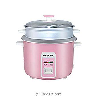 Innovex Rice Cooker- 1.8L (IRC186) Online at Kapruka | Product# elec00A1784