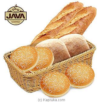 Java Lounge Fresh Bread Basket - Made Fresh Every Morning Online at Kapruka | Product# grocery00993